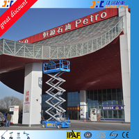 China 8m outdoor Scissor Lift Platform factory construction and villa decoration painting lift equipment