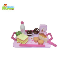 Hot Offer Wood Educational Food Play Set Toys