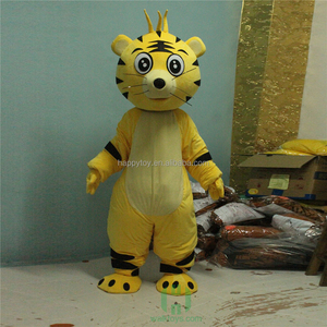 Cute Custom OEM Service Tiger Mascot Animal Costume