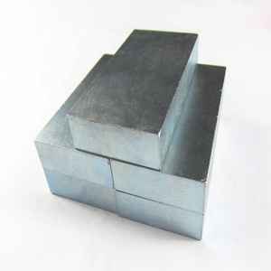 Best price rare earth neodymiumn40 block magnet for low speed generator wholesale