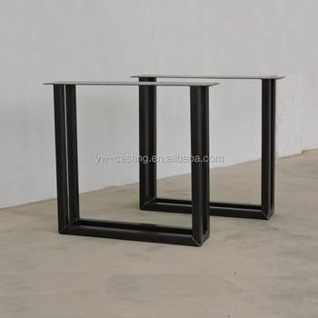 china manufacture new style furniture leg chrome u shaped metal table legs buy furniture leg. Black Bedroom Furniture Sets. Home Design Ideas