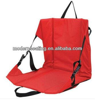 Portable Red Folding Stadium Chair Padded Cushion Bleacher Sports Seat