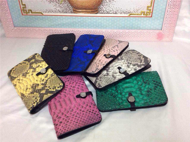 Women Genuine Python Snake Skin Leather Wallet Wholesaler