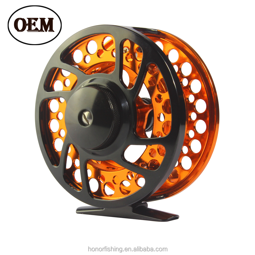 Smooth OEM saltwater fly reel wholesale fly fishing