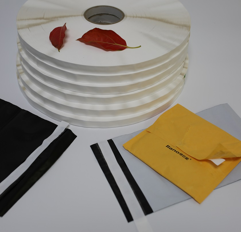 Permanent sealing tape for sealing courier bag or express bag