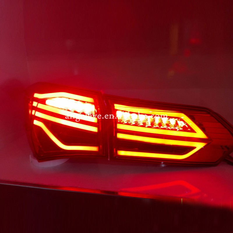 For Toyota Corolla Led Tail Lamp Red Black 2017 To Year