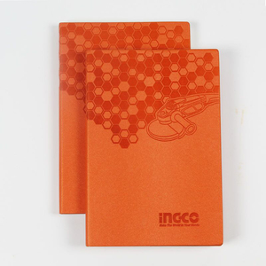 19T05 China Manufacturer Personalized Pu Leather A5 Notebook