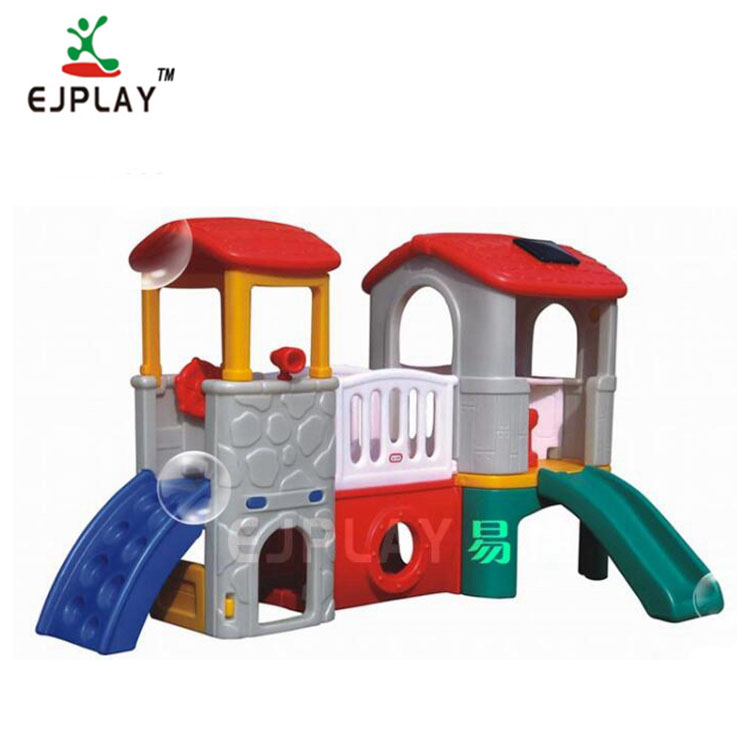 Good Quality Commercial Plastic Kids Mini Indoor Playground Slides