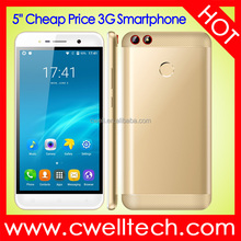 5 Inch Touch Screen Metal Cover Quad Core Fingerprint 3G Android Smartphone UNIWA F5010 Double Camera Double Flashlight