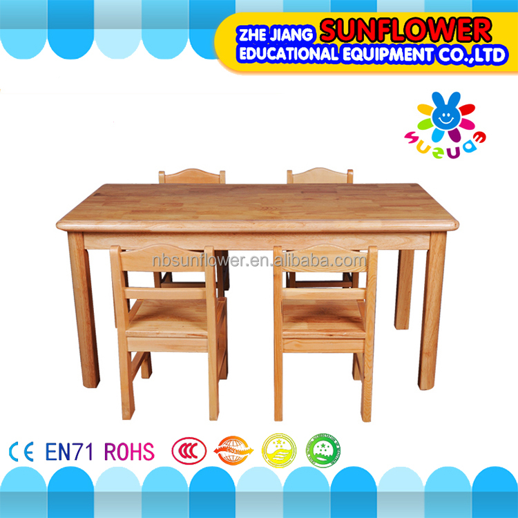Niños mesa de estudio y silla de jardín de infantes silla de estudio ...