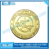 Custom Souvenir rare gold Coins value