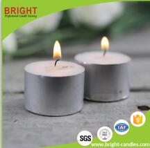 2017 Paraffin Wax Hand Made With Plastic Base Tealight Candle Supplier