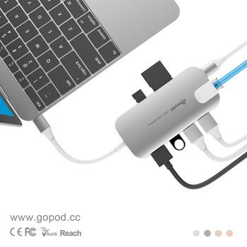 Gmobi Usb Type C 3 1 Hub To 3 Ports Usb 3 0 Hub Sd Amp Tf
