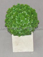 wholesale ball shape Artificial plants Green Baby Tear In Pot for home decorations.