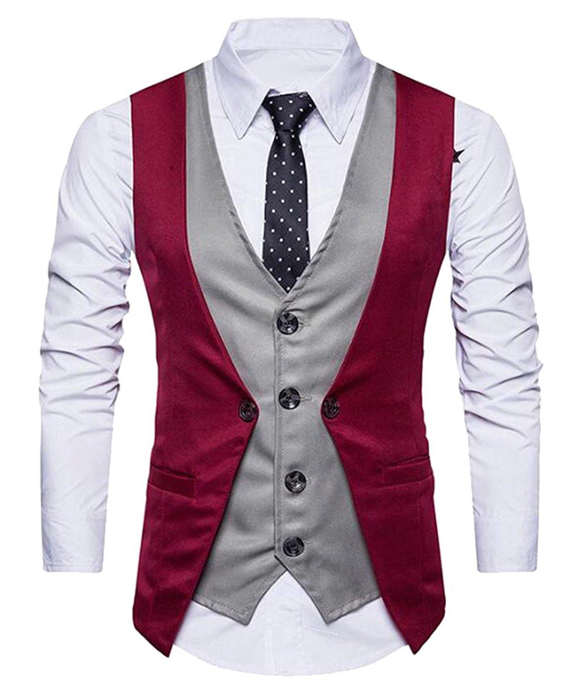 f28c42ac1df Cheap Formal Vests Men, find Formal Vests Men deals on line at ...