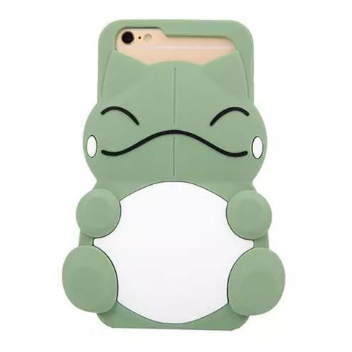 New Super Cute 3D Cartoon Frog Design Silicon Shell Cover For APPLE iPhone 6 6plus Hot Nice Fashion Shockproof Phone Cases