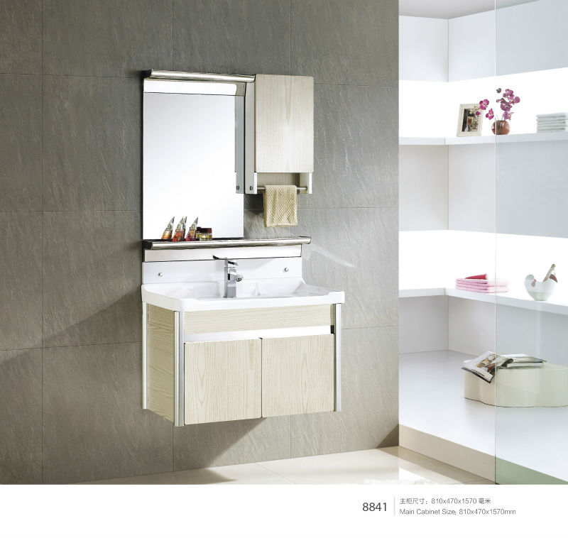 . Sanitary ware wall mounted Solid Wood modern bathroom cabinet  View modern  bathroom cabinet  WDR Product Details from Chaozhou WDR Ceramics Co   Ltd