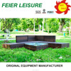 new design hot sell rattan outdoor furniture jakarta with high quality