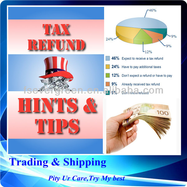 International trading company, tax refund/export rebates services