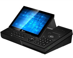 Cash register Dual Screen 10 inch Android POS System with Printer WIFI NFC SDK pos system all in one pos