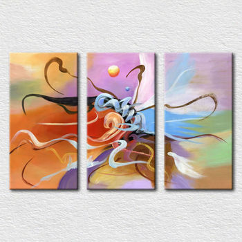 Wholesale Canvas Modern Pictures Of Abstract Paintings For Office Room