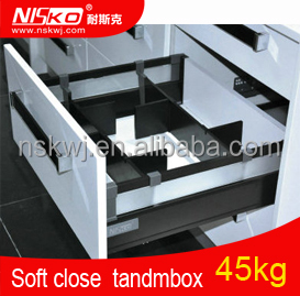 kitchen silent soft closing Drawer