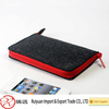 Simple fashion design felt phone bag for students made in china