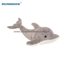 Promotional Wholesale Customized Arctic Dolphin Valentine Lover Gift Cute Grey Couple Soft Stuffed Plush Toy Dolphin