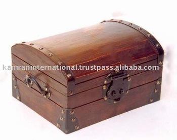 Wooden Chest Box Custom Wood Bo