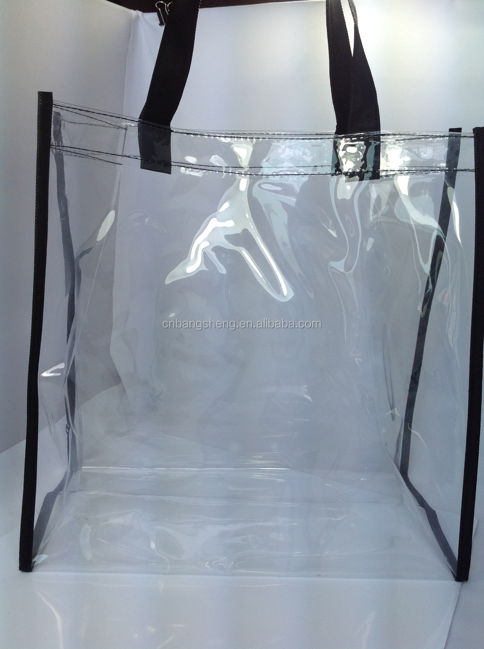 Transpa Clear Plastic Carry Bags Pvc Ping Bag