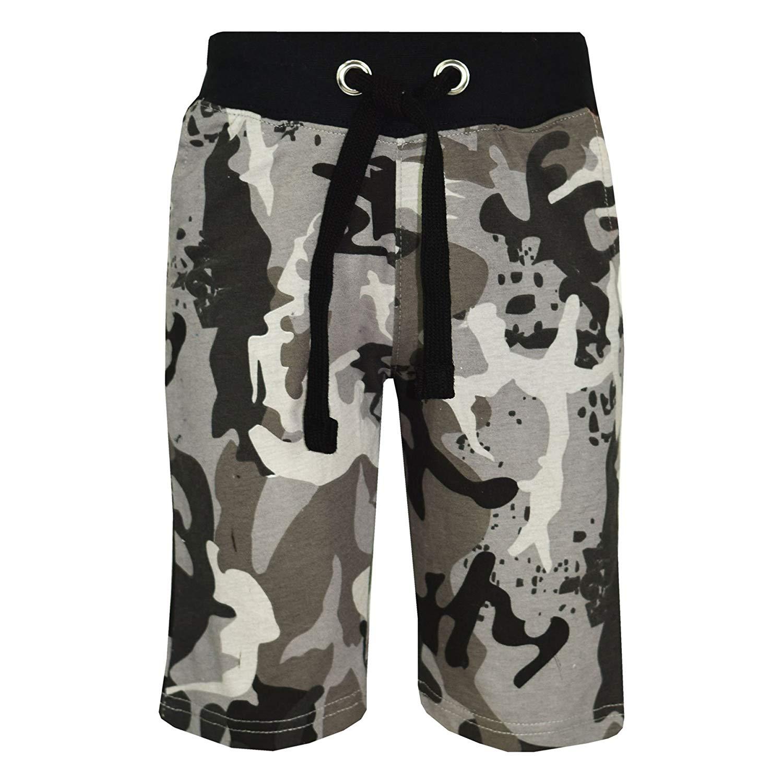 Kids Boys Shorts Fleece Blue Chino Short Knee Length Half Pant New Age 3-13 Year