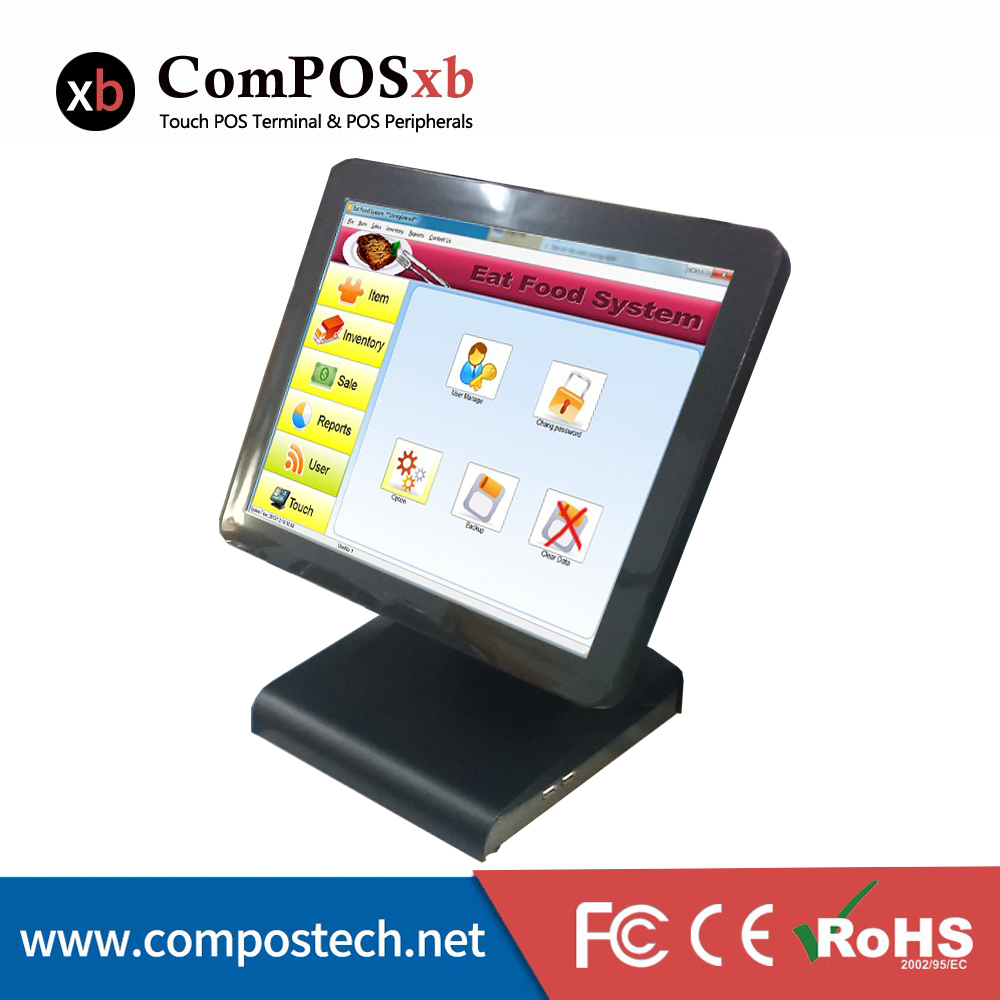 High Speed Cash Register POS terminal <strong>Point</strong> Of Sale POS System For Restaurant