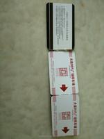 custom business card sticker