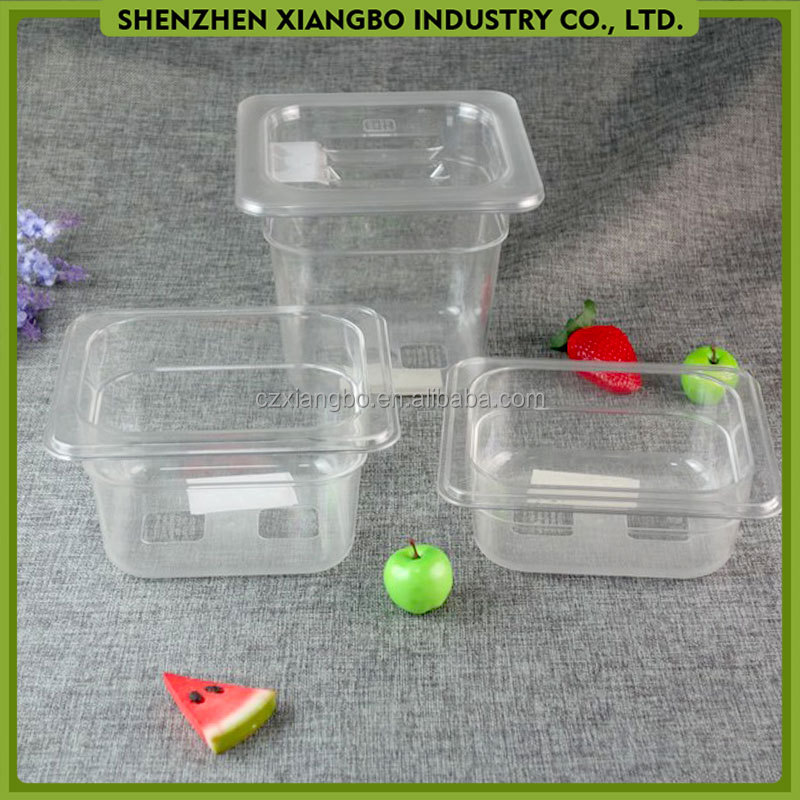 Full Size Polycarbonate Food Pan Clear SL-16
