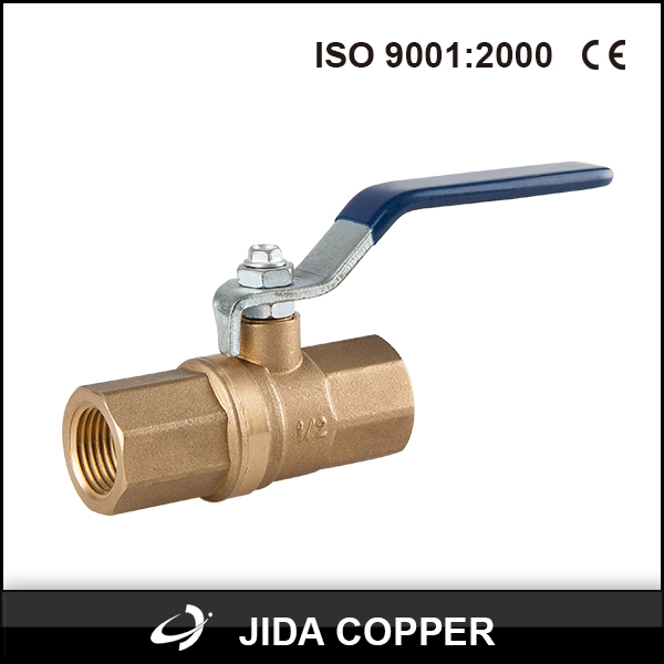 brass ball float valve with lock