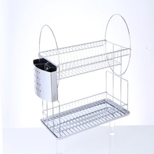 2018 new style kitchen racks/drainer rack/stainless steel dish rack