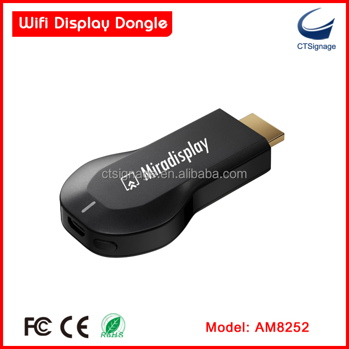 new miradisplay Ipush Airplay <strong>Dongle</strong> Miracast adapter Wireless Display WIFI <strong>dongle</strong>