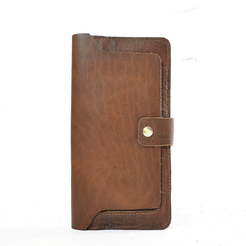 Natural Leather Women S Wallet