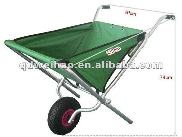 Folding Aluminum Garden Cart Folding Aluminum Garden Cart