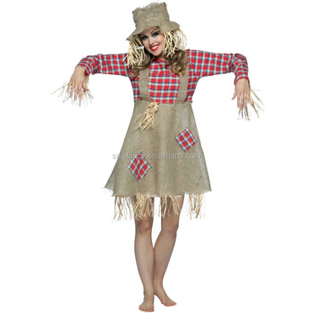 Vogelscheuche Kostüme Für Frauen Raumgeist Halloween Horror Kostüm