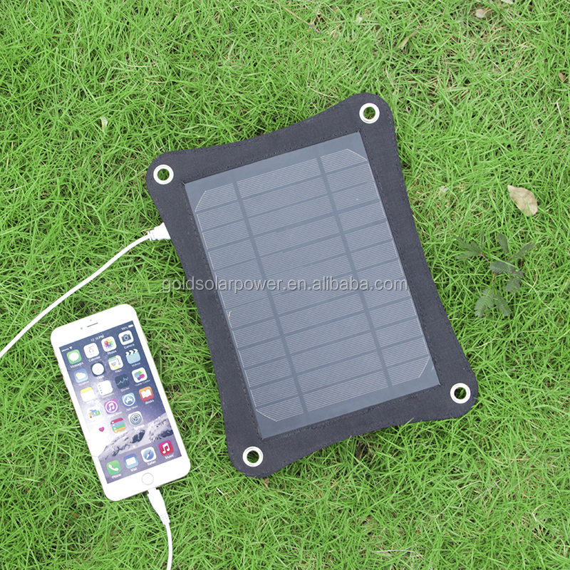 window solar charger Portable Solar Panel 6.5W With Sunpower Cells for mobile phone, tablet etc.