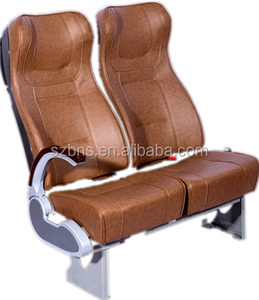 High Quality Electric Bus Passenger Seats Adjustable Leather cover with Handle for Sale