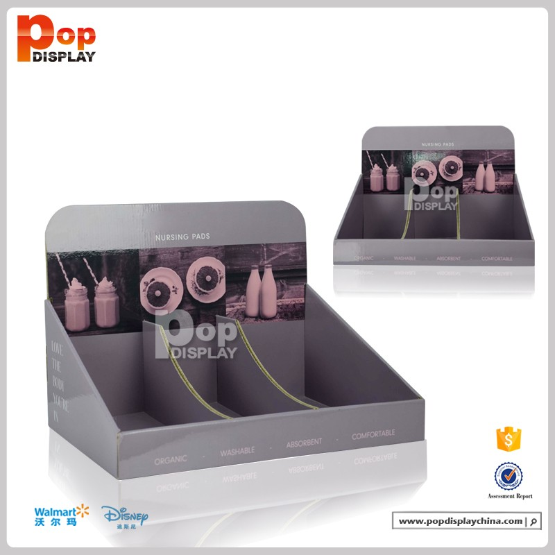 custom printed www.make up tips pop countertop displays