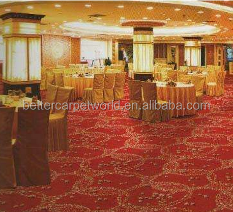 Factory custom luxury velour used hotel corridor carpets for sale
