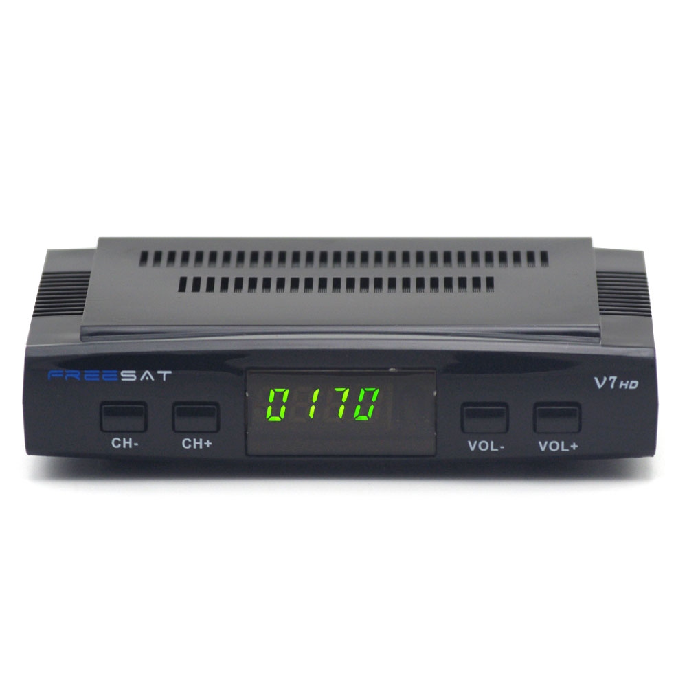 FTA <strong>Satellite</strong> <strong>Receiver</strong> Freesat V7 <strong>HD</strong> Full 1080P +1PC USB WiFi DVB-S2 <strong>HD</strong> Support Ccam powervu youpron set top box DVBS2