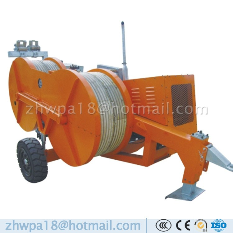 Hydraulic Bullwheel Tensioners and Puller