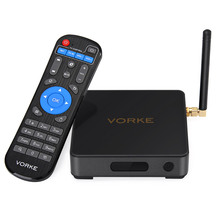 IN STOCK! VORKE Z1 Amlogic S912 Android 6.0 4K VP9 Smart TV BOX 3G DDR4/32G eMMC 802.11AC WIFI Gigabit LAN Media Player
