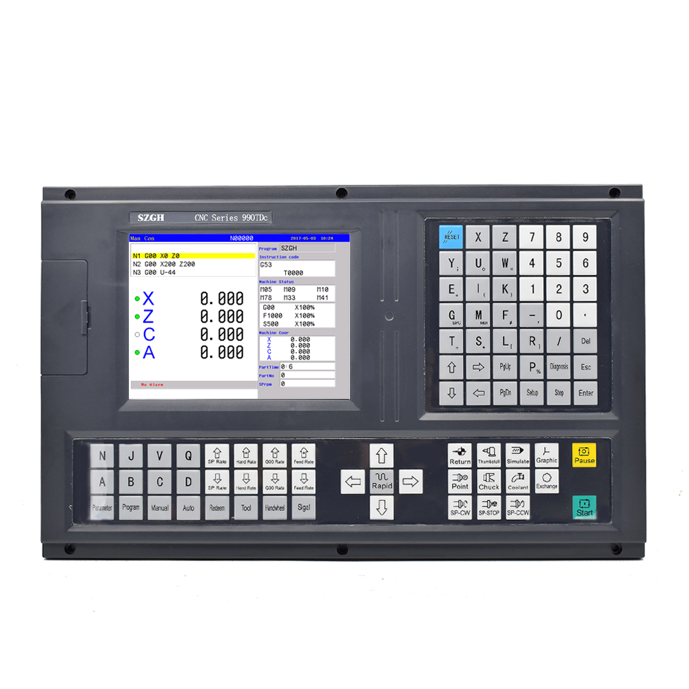 High-performance type Zuinig 4 axis Draaibank CNC Controller
