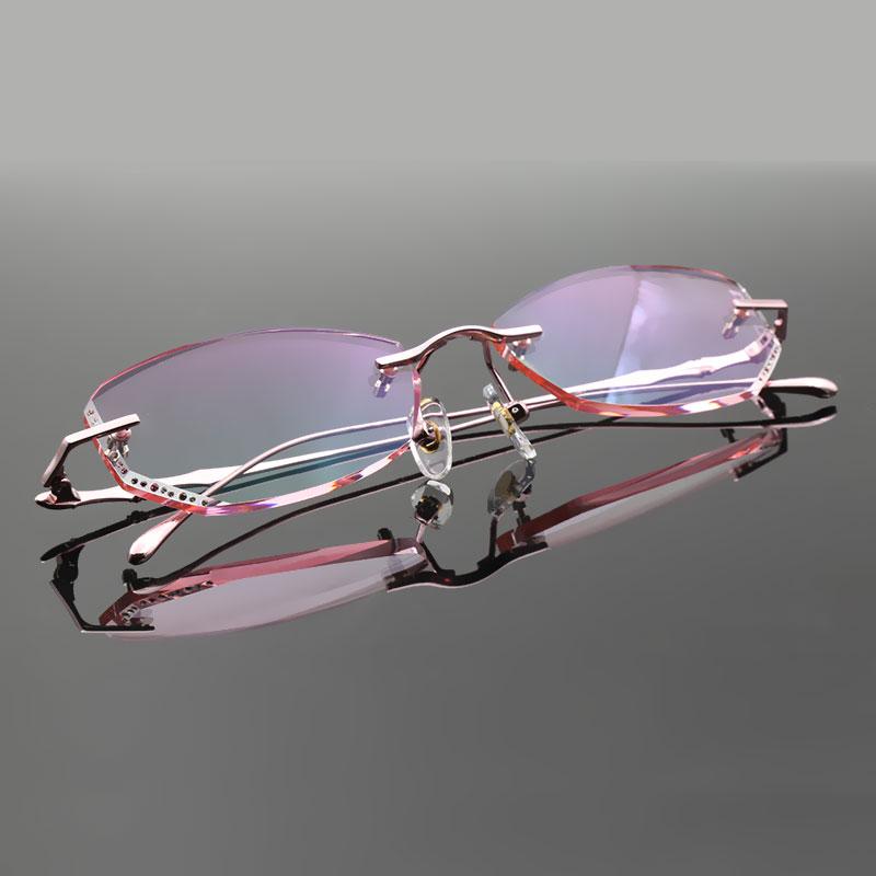 d328caaa2e 2019 Reven Jate Reven Glasses Female Eyewear Alloy Rimless ...