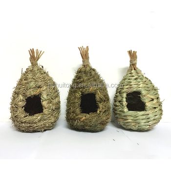 wild bird roosting pocket,bird nesting pocket,bird box---set of 3